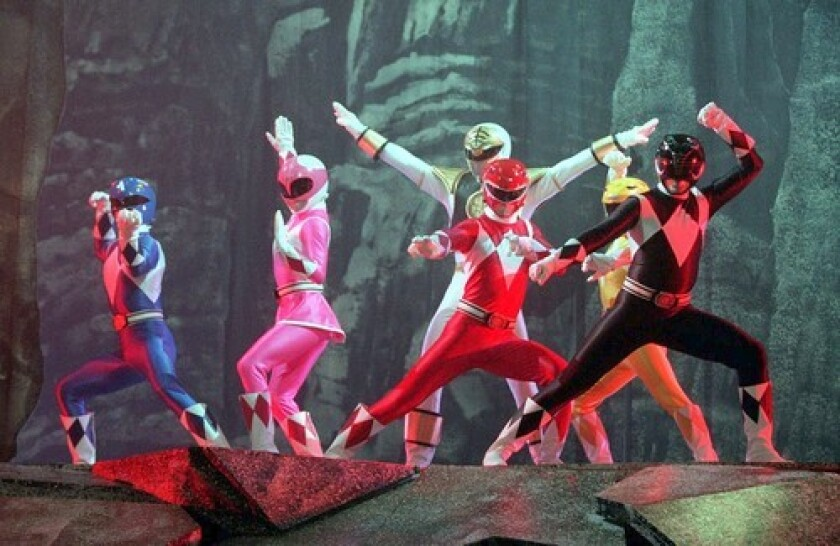 """Who knew? Simon was behind the """"Power Rangers"""" theme song!"""