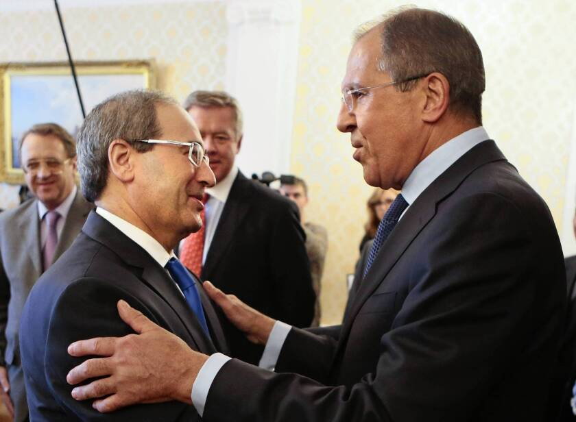 Russia says Syria will attend peace conference