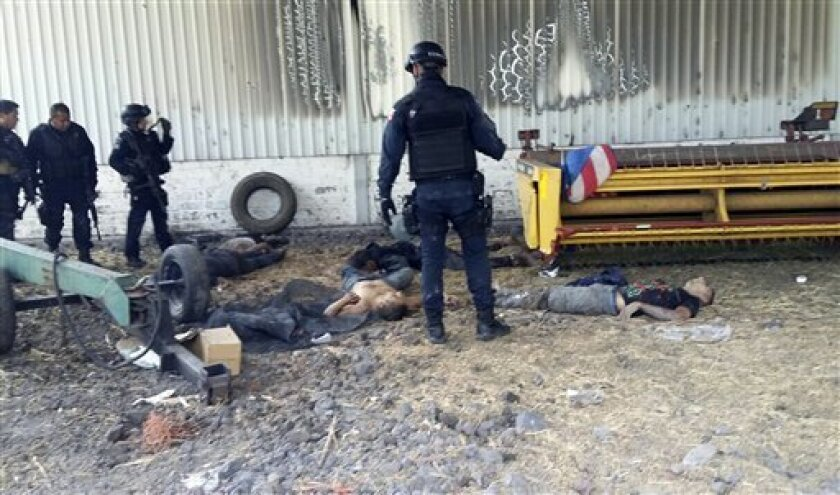 El comisionado de la Policía Federal fue destituido de su cargo por el presidente Enrique Peña Nieto, menos de dos semanas después que la comisión de derechos humanos de México dio a conocer un duro informe en el que afirmaba que dicho cuerpo policial ejecutó a 22 presuntos narcotraficantes durante una redada en una hacienda.