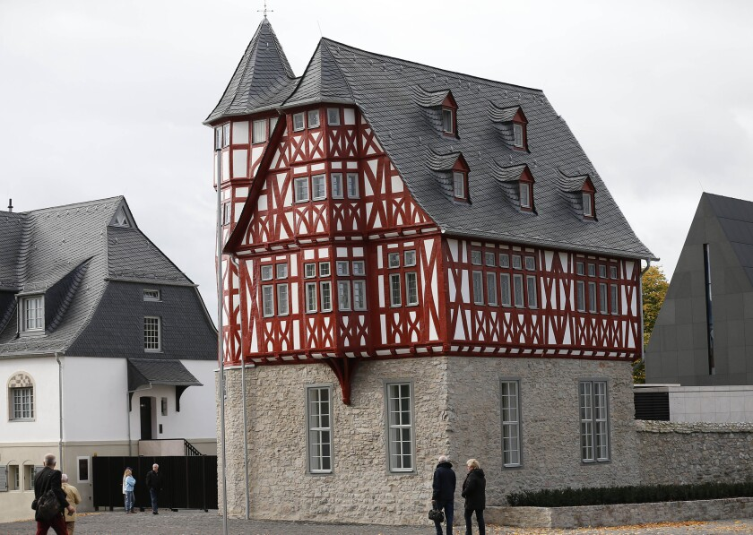 The Limburg, Germany, residence of Bishop Franz-Peter Tebartz-van Elst, on which he is accused of spending $42 million in church funds, may be turned into a refugee center or soup kitchen, a British newspaper has reported.
