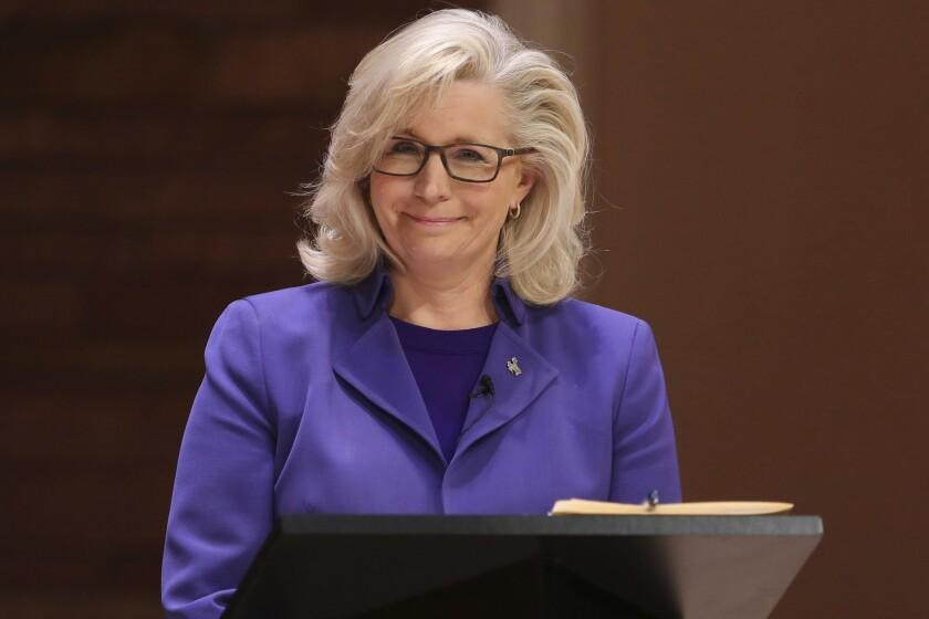 Rep. Liz Cheney (R-Wyo.)
