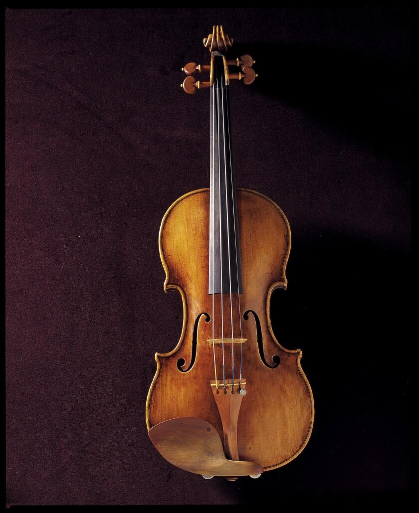 The Alcantara Stradivarius violin at UCLA