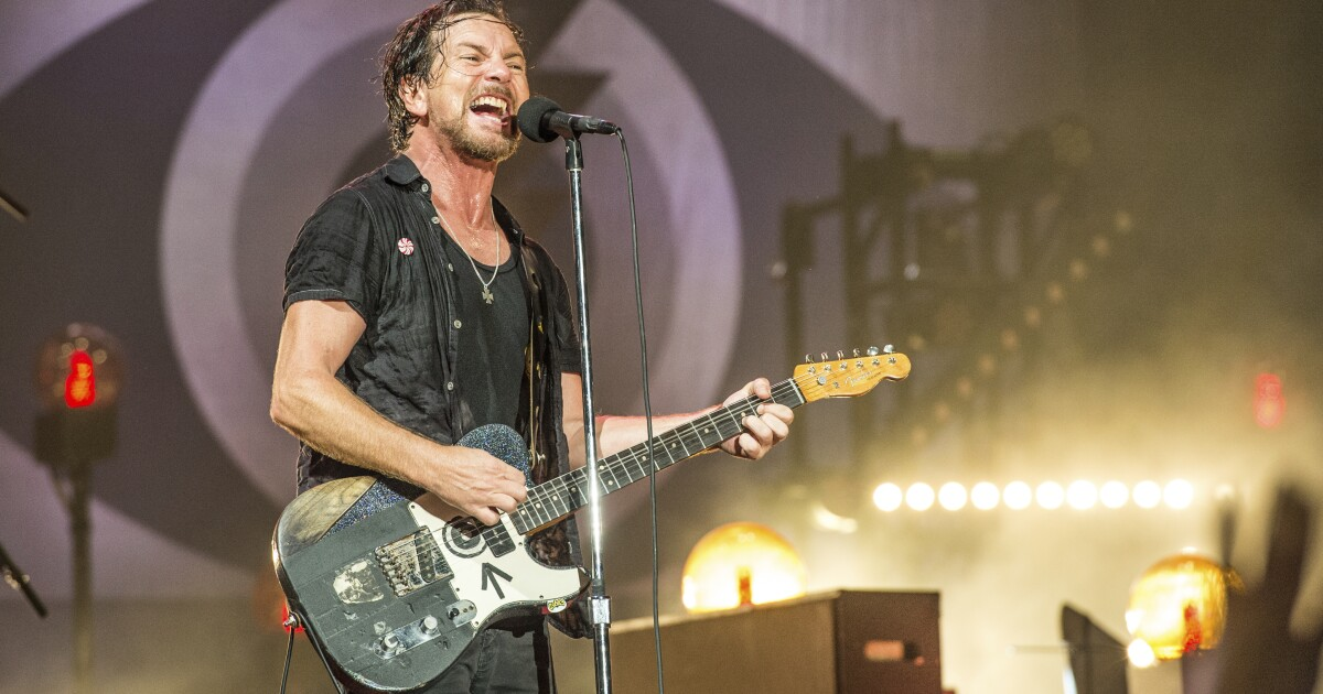 Eddie Vedder, Pearl Jam, Kings of Leon to headline Ohana Festival in Dana Point after postponing 2020 edition