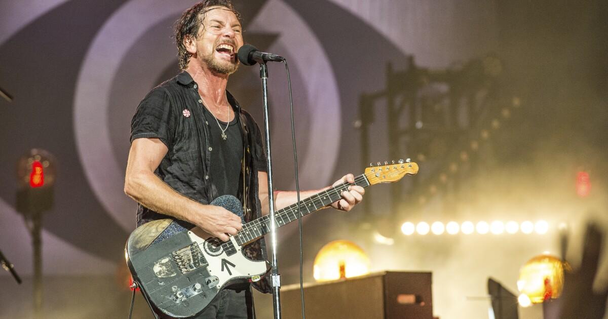 Eddie Vedder, Pearl Jam, Kings of Leon to headline Ohana Festival in Dana Point after postponing 2020 edition