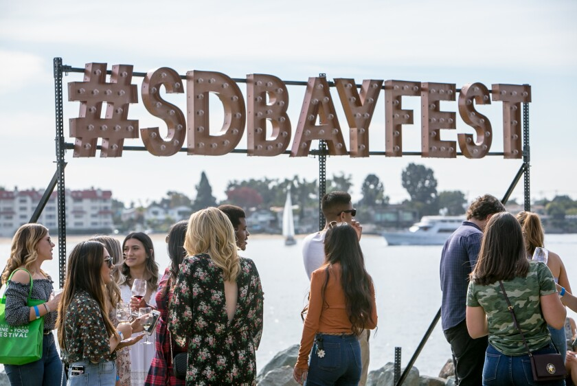 The 16th annual San Diego Bay Wine + Food Festival is back, kicking off Sunday.