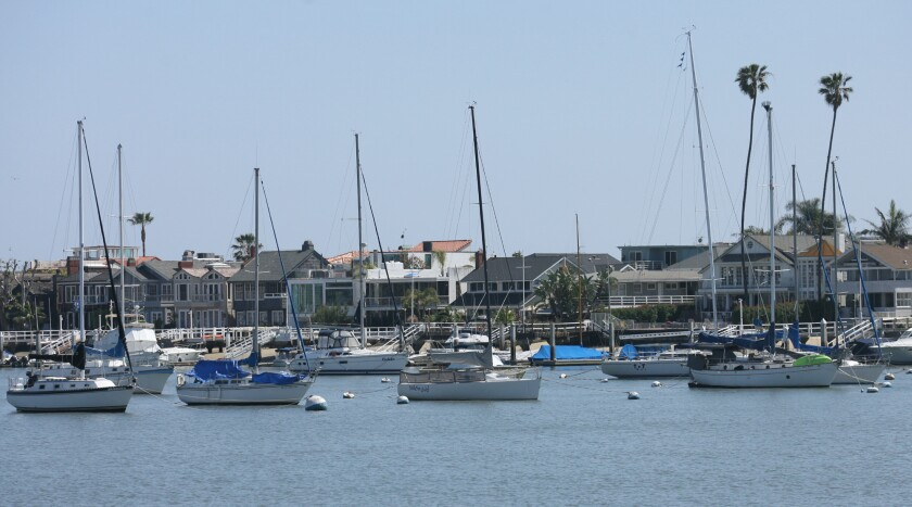 Newport Harbor.