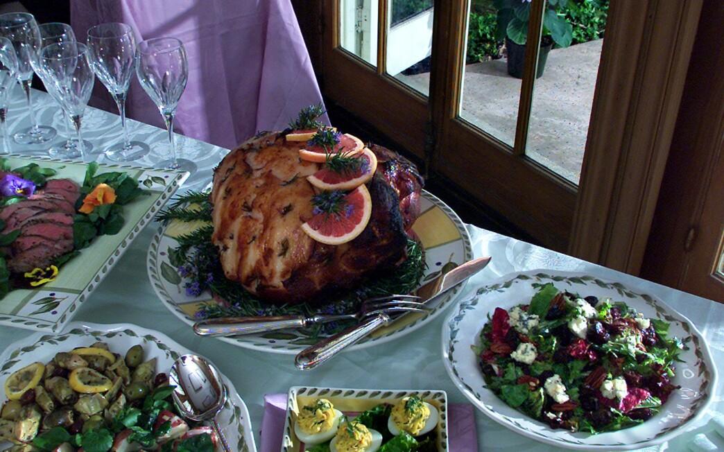 Ham With Red Grapefruit Glaze