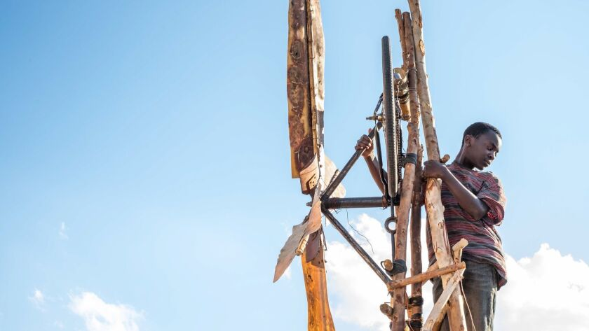 Maxwell Simba appears in <i>The Boy Who Harnessed the Wind</i> by Chiwetel Ejiofor, an official sele