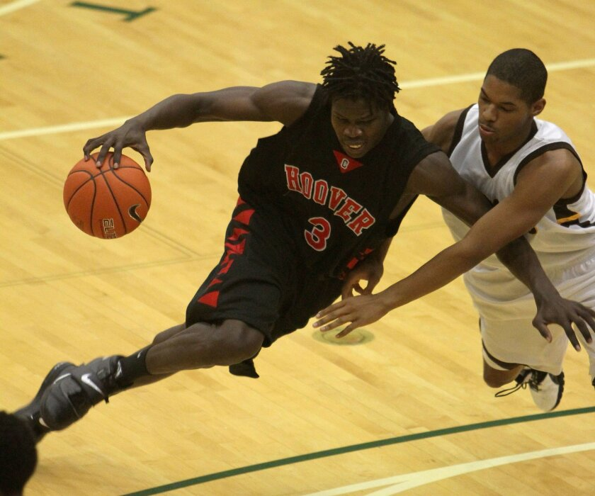 Angelo Chol finished his career at Hoover with 2,133 points, 1,732 rebounds and 1,120 blocked shots in 135 games.
