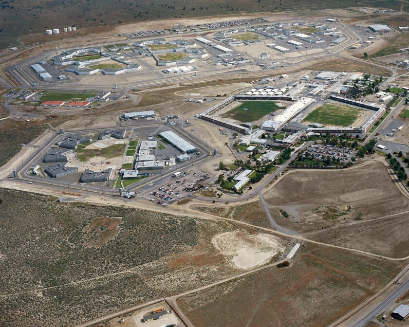 The California Correctional Center and High Desert State Prison in Susanville.