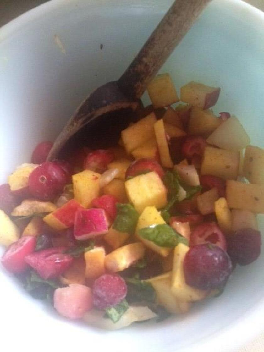 Stone Fruit Summer Salsa