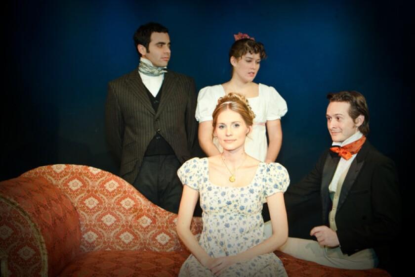 "Impro Theatre's ""Jane Austen UnScripted"""