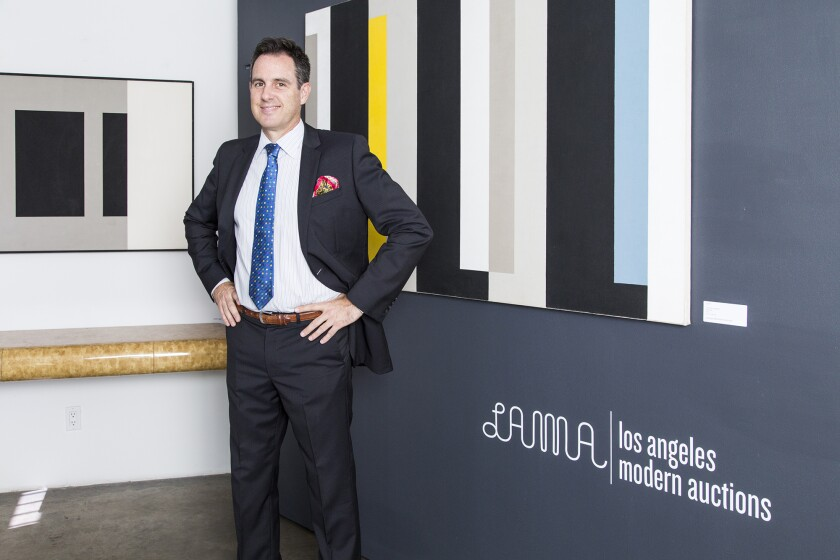 Peter Loughrey founded L.A. Modern Auctions in 1992.