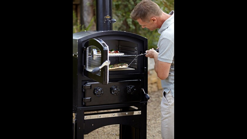 Fornetto wood-fired oven and smoker, available at Outdoor Elegance.