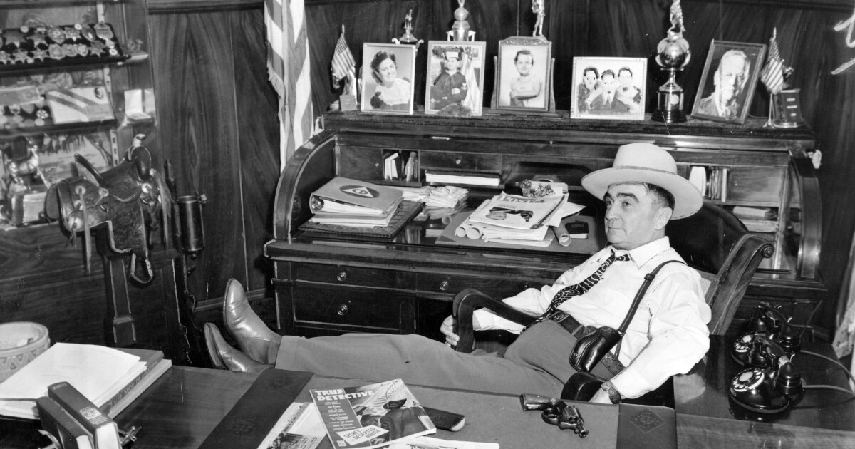 History of the L.A. County sheriff -- 1850s to Villanueva - Los Angeles Times