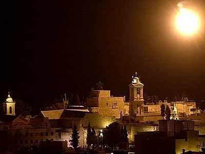 Flare Above Bethlehem