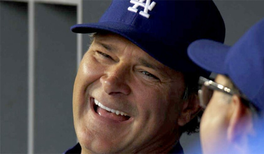Dodgers' Don Mattingly second in NL manager of the year vote