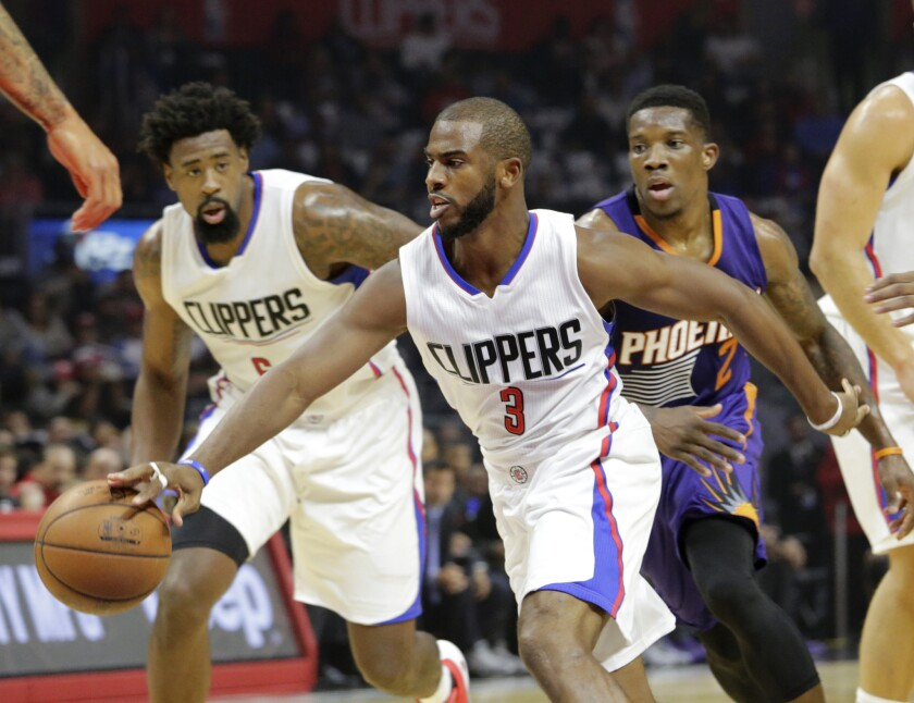 DeAndre Jordan, Chris Paul, Eric Bledsoe