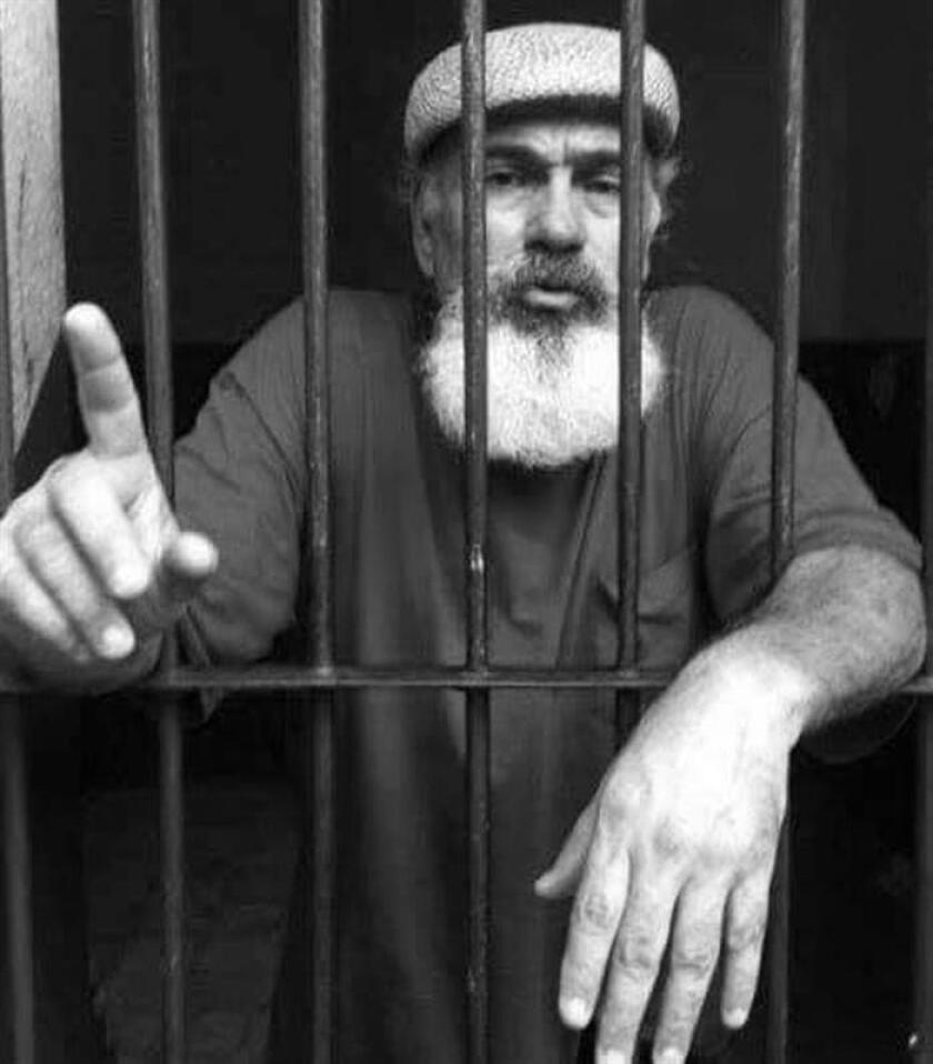 Imagen de archivo que muestra al activista y defensor de derechos humanos Sinar Corzo en una cárcel de Chiapas (México) en agosto de 2013. EFE/Archivo