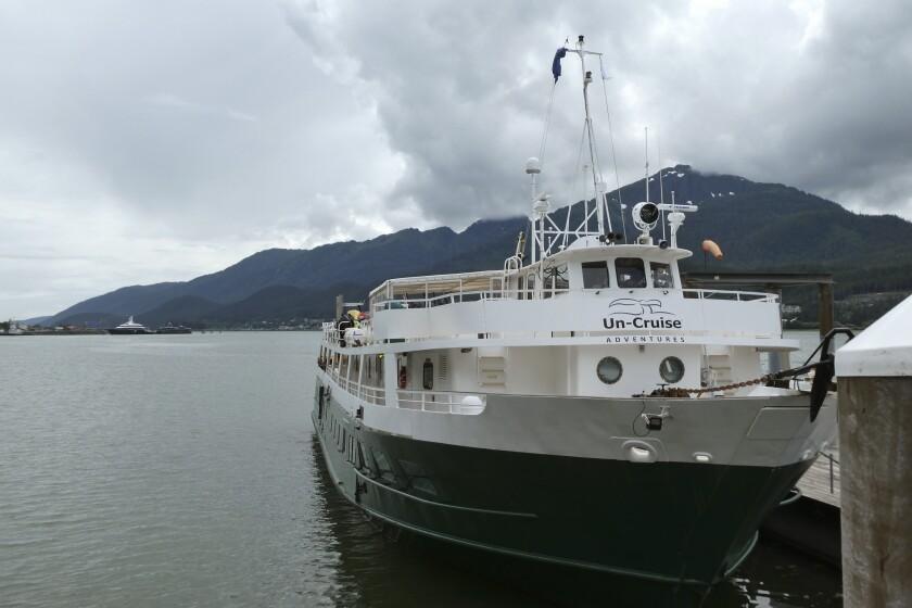 The Wilderness Adventurer cruise ship
