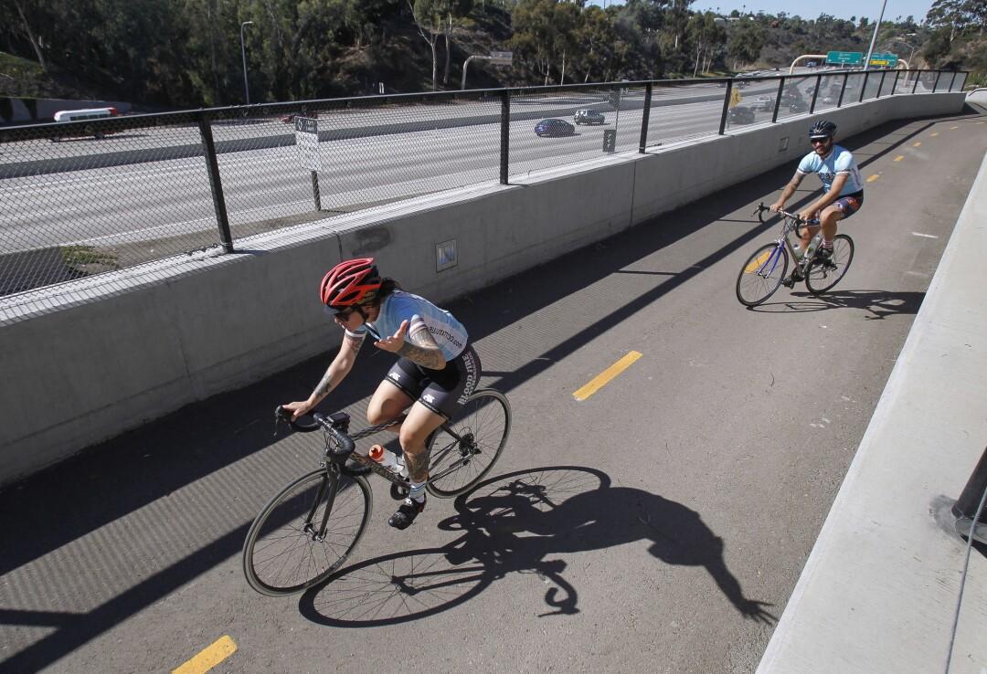 SANDAG bike lanes