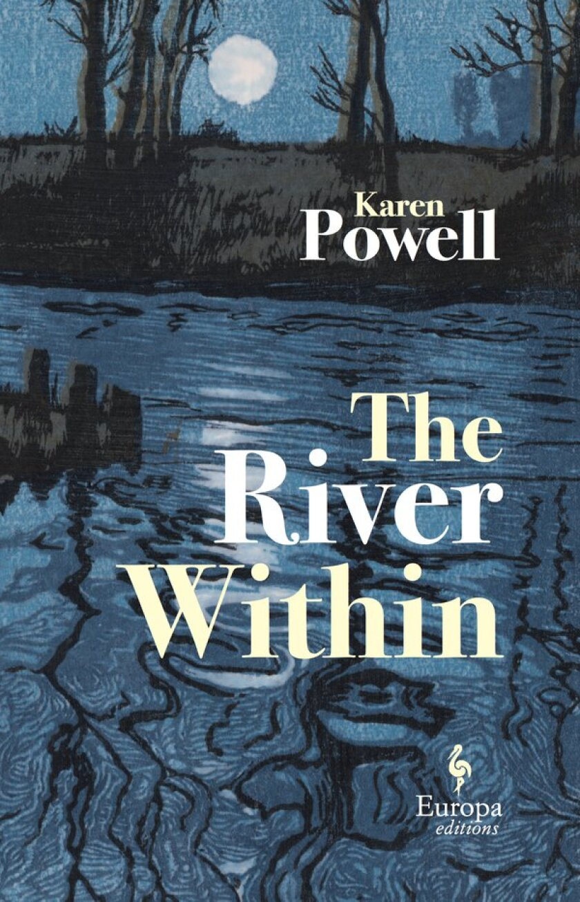 """Book jacket for """"The River Within"""" by Karen Powell."""