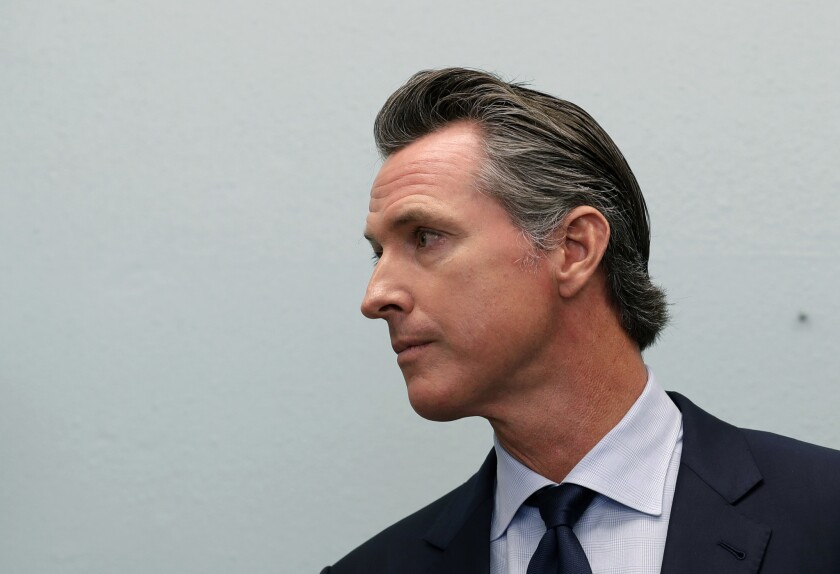 Gov. Gavin Newsom has sharp differences with the Legislature on special education funding.