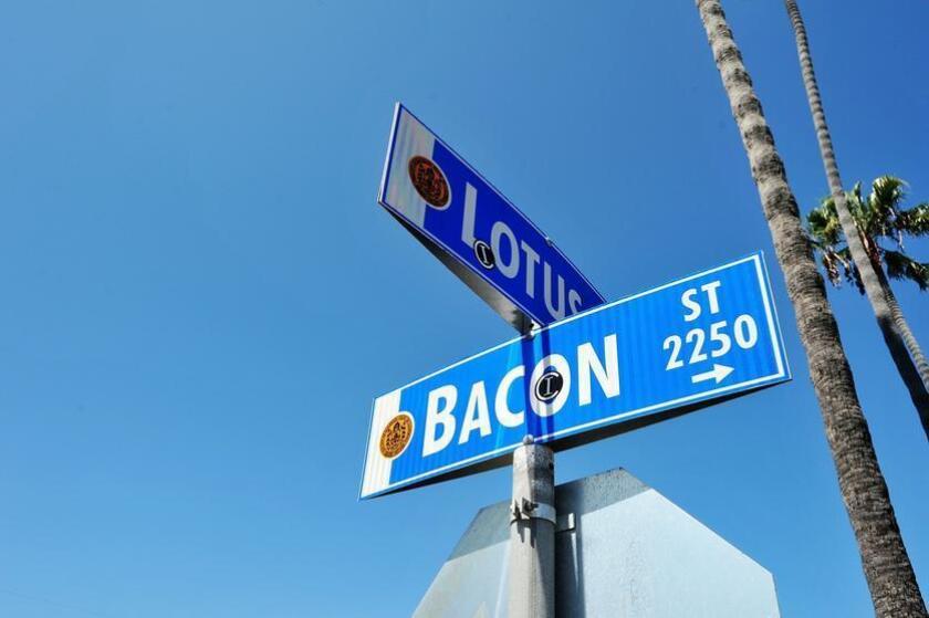 Bacon Street in Ocean Beach. - Rick Nocon