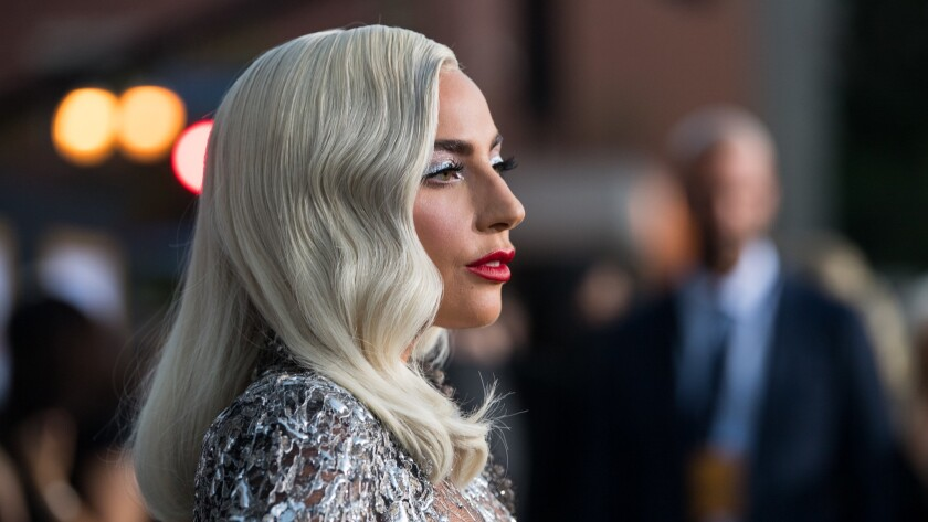 """Lady Gaga attends the premiere of Warner Bros. Pictures' """"A Star Is Born"""" at the Shrine Auditorium in Los Angeles."""
