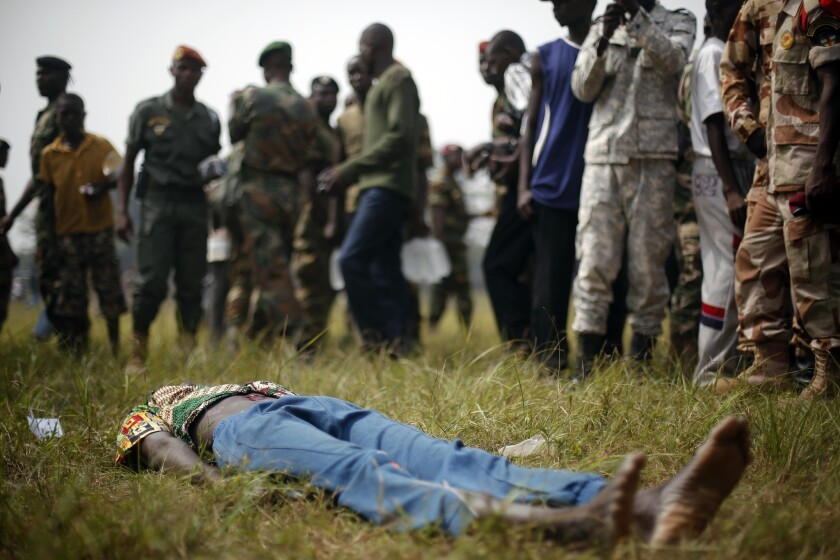 Central African Republic lynching