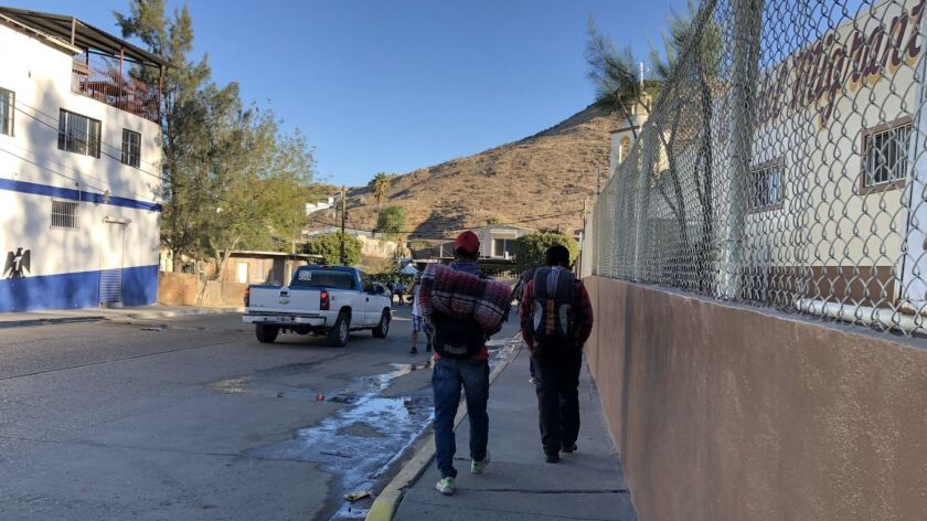 In humble Tecate, Mexico, Central American migrants find a