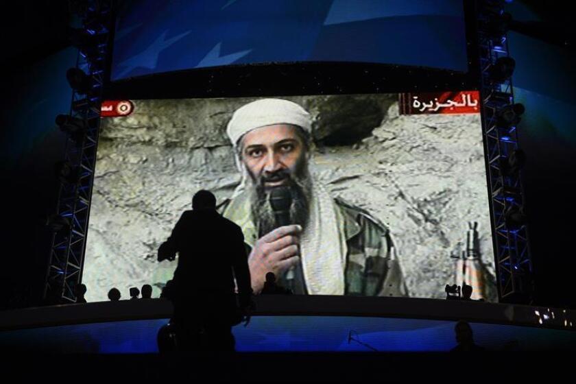 El presidente de Estados Unidos, Donald Trump, acusó hoy al Gobierno paquistaní de haber ayudado a esconder en su territorio al líder de Al Qaeda Osama Bin Laden, muerto en una operación militar estadounidense en 2011, en una entrevista difundida hoy por el canal de televisión Fox News. EFE/ARCHIVO
