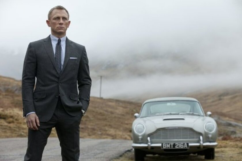 """Skyfall"" opened at No. 1 in 25 countries this weekend."