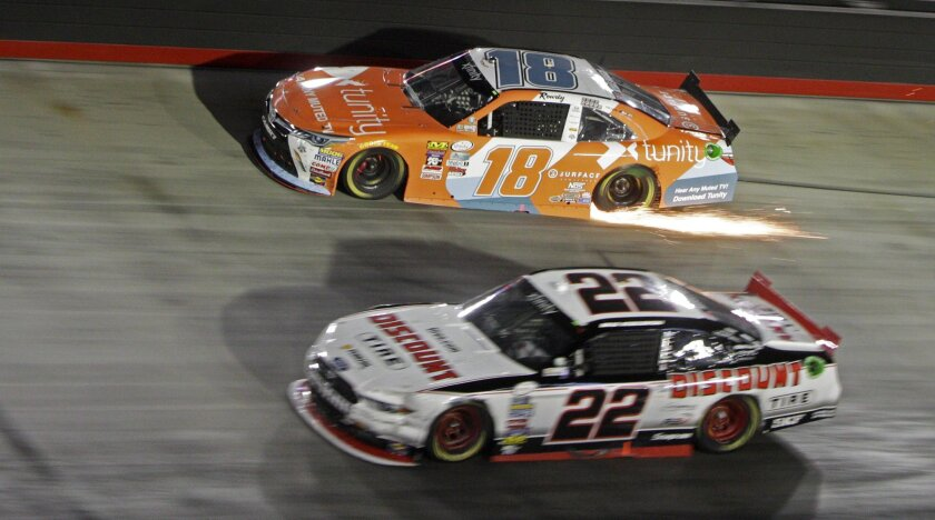 Surprise: Dillon wins Xfinity race at Bristol in wild finish - The