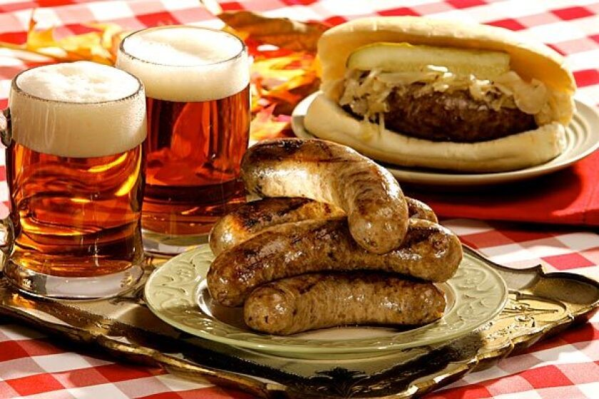 October is the perfect time for brats.