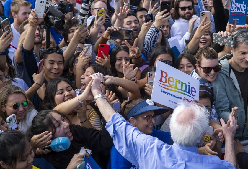 Just what is it about Bernie Sanders that young voters love?