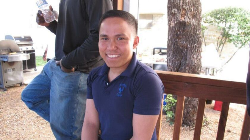 Alvin Bulaoro had been missing since late December and was found dead Thursday night in a Fallbrook
