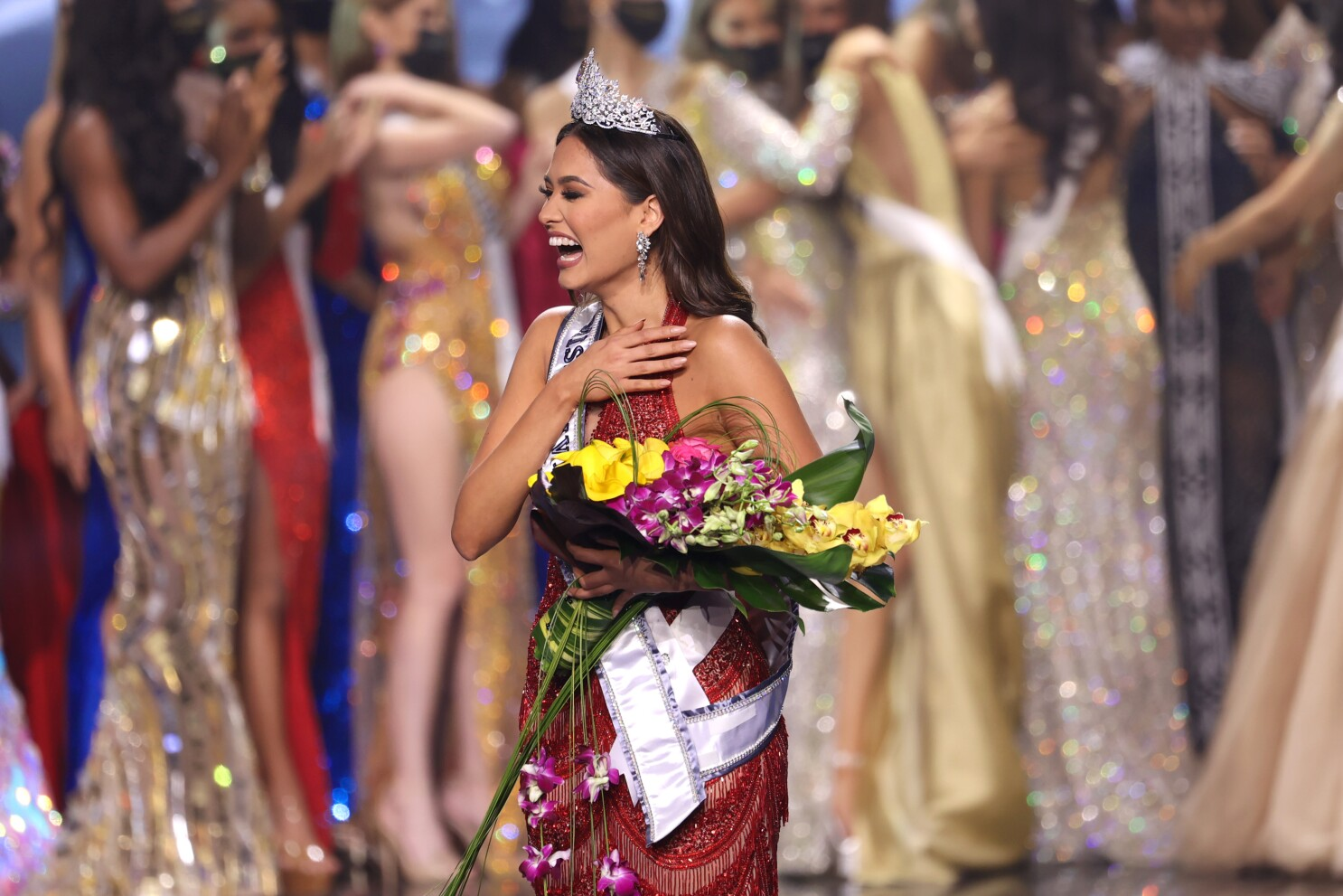 Andrea Meza of Mexico crowned 69th Miss Universe - The San Diego Union-Tribune