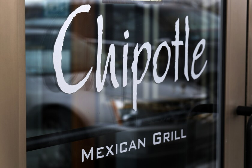 Public health officials believe norovirus is to blame for an outbreak that sickened dozens of patrons at a Chipotle restaurant in Simi Valley, Calif.
