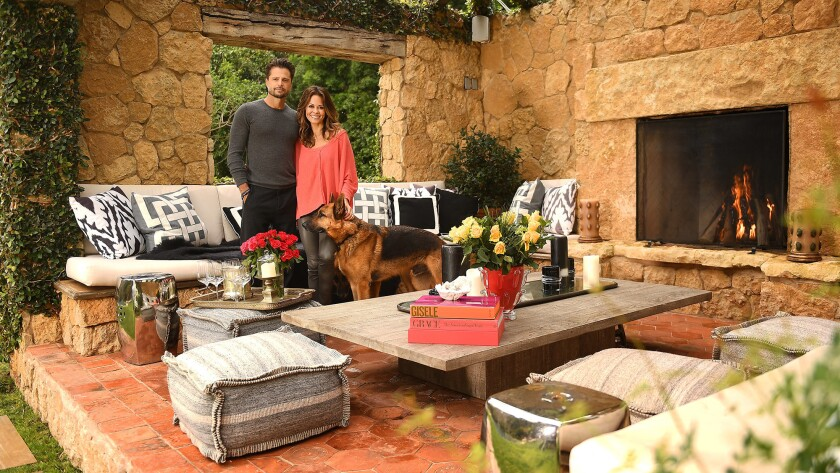 Hot Property | My Favorite Room | Brooke Burke-Charvet and David Charvet