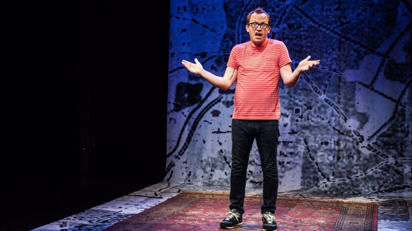 """Before it was an HBO special, """"Chris Gethard: Career Suicide"""" was an off-Broadway one-man show at th"""