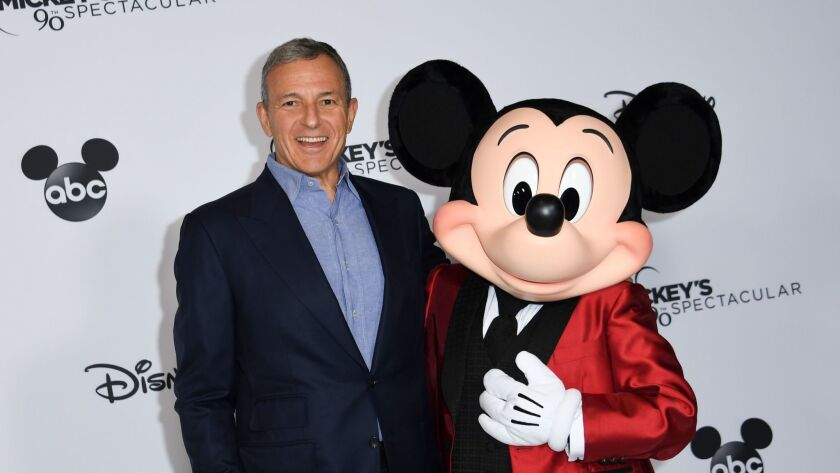 The compensation plan for Disney CEO Robert A. Iger spurred a rebuke by shareholders earlier this year.