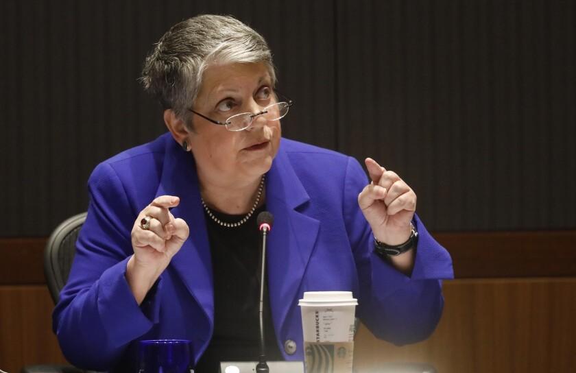 UC President Janet Napolitano