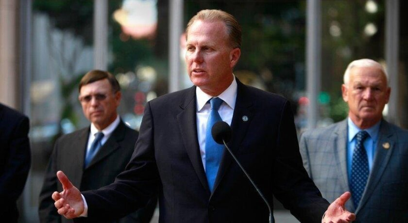 San Diego Mayor Kevin L. Faulconer