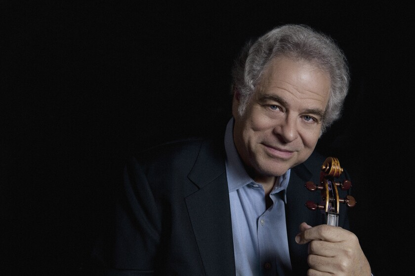 Itzhak Perlman opens the Soraya's new season: Classical music in Los Angeles this week