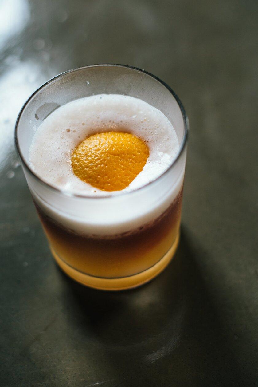 Whiskey sunny side up from Breakfast Republic (Courtesy photo)