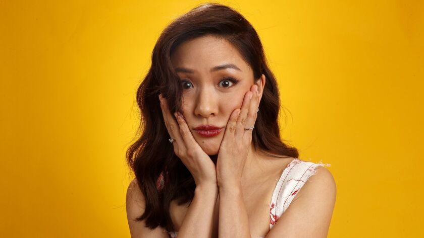 "Constance Wu plays Rachel Chu in ""Crazy Rich Asians."""