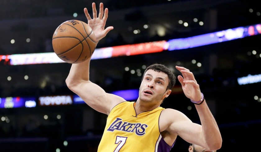 Los Angeles Lakers rookie Larry Nance Jr. is determined to live up to the family name
