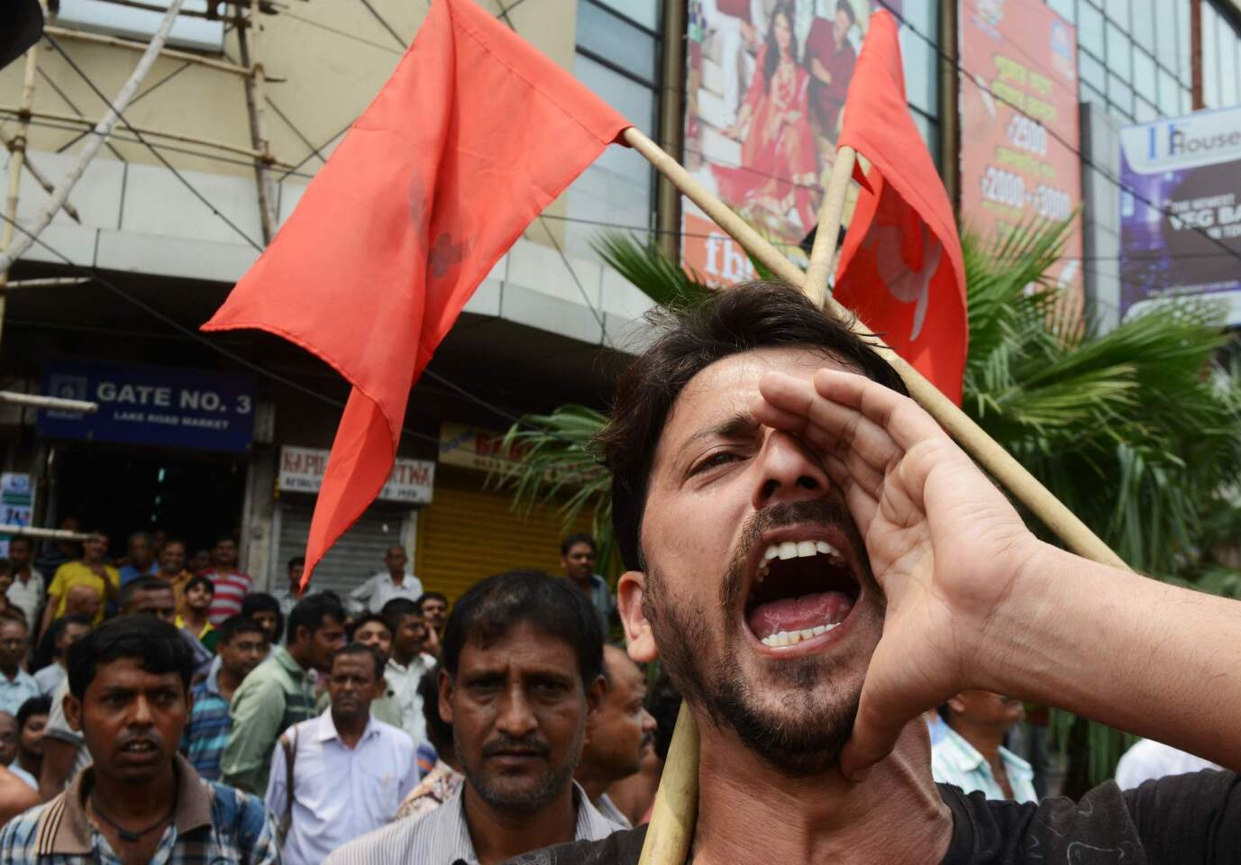 Millions of Indian workers stage strike