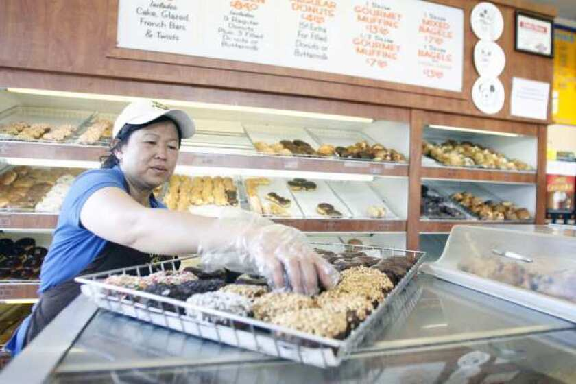 Burbank shop owners partake in National Donut Day